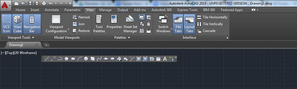 Как сделать в автокаде классический интерфейс 42